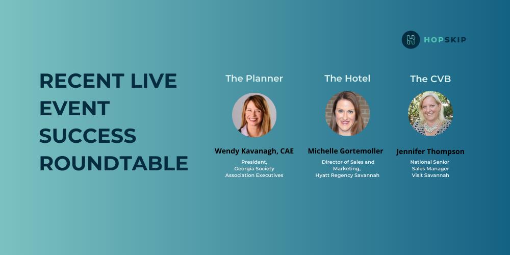 Live event success roundtable discussion
